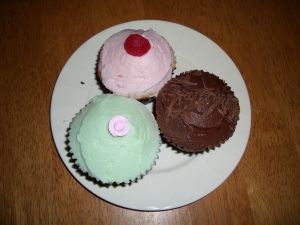 Cupcakes from Sherbet