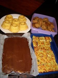 part of Sunday's bake-fest