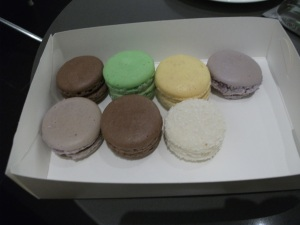 Macarons from Cafe Vue, Melbourne