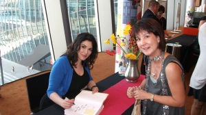 Meeting the domestic goddess, Nigella Lawson
