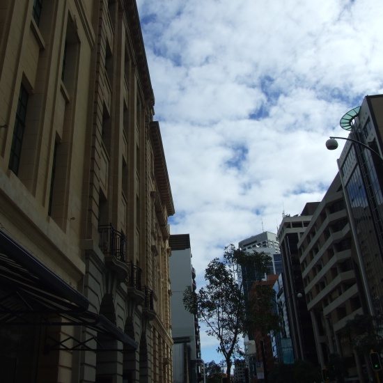Changing face of St Georges Tce