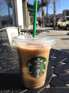 Starbucks frozen soy frappe